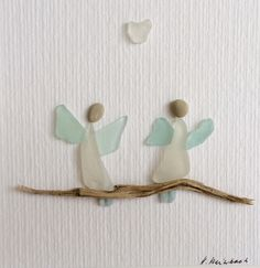 Sometimes a person close to you or perhaps you yourself is in a difficult situation. Sea Glass Crafts, Sea Glass Art, Sea Glass Jewelry, Sea Glass Beach, Driftwood Crafts, Seashell Crafts, Beach Crafts, Diy Crafts For Girls, Crafts For Seniors