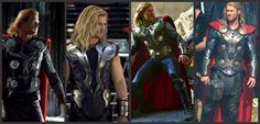 Thor_Avengers_Dark World Costume Evolution.jpg 1,600×768 pixels