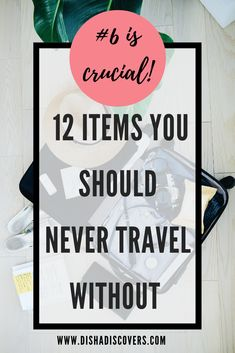 Packing Tips: 12 Not so Obvious Items You Shouldn't Travel Without - Are you going on a vacation, but you have no idea what to pack? Read my packing list so you don't forget these crucial items on your travels. #travel #traveltips #packing #packingtips #packinghacks