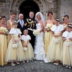 Michelle & Gareth Yellow Wedding