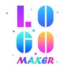 Logo Maker App, Logo Maker Free, App Logo, How To Make Logo, Create A Logo, Unique Logo, Cool Logo, Photography Logo Maker, Logan