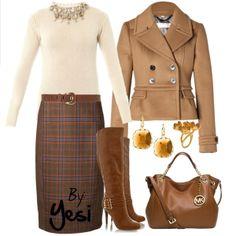Winter tones: camel, brown & mostaza. 257