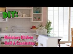 DIY Dollhouse - Miniature Kitchen for Nendoroid, Dolls & Action Figures - YouTube