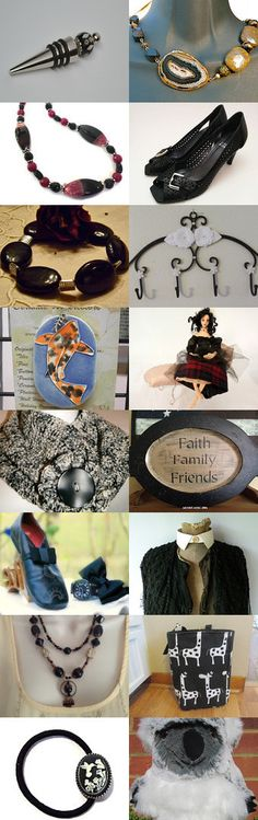 HAPPY NEW YEAR FRU - BLACK MAGIC by Cindyanne on Etsy--Pinned with TreasuryPin.com