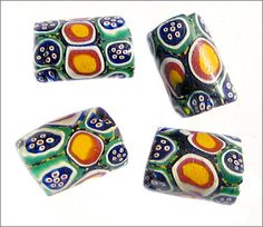 Venetian Millefiori beads | from the African trade circa early 1900's.