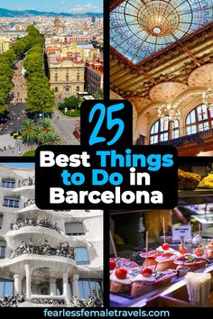 My favorite 25 things to do in Barcelona, including attractions, activities and adventures that are absolutely perfect for solo travelers. Solo Travel Tips, Europe Travel Tips, European Travel, Travel Guides, Travelling Europe, Travel Articles, Budget Travel, Traveling, Portugal Travel