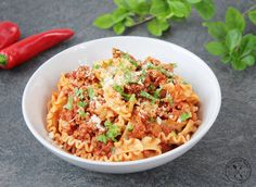 Tripoline al ragù z wołowiną | Recipes | Culinary Portfolio
