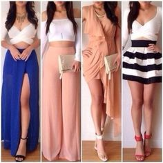Outfits I like Glam Dresses, Cute Dresses, Fashion Dresses, Fashion Clothes, Komplette Outfits, Summer Outfits, Summer Clothes, Vetement Fashion, Little Dresses