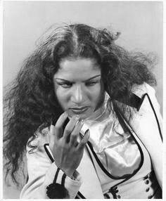 Carmen Amaya, spanish gipsy dancer.