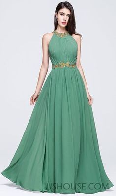 Nice color and modern design combine to create this one-of-a-kind Prom dress masterpiece. #JJsHouse #Party #Prom