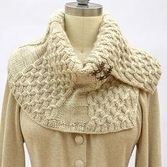 NobleKnits.com - Pam Powers Replier Cowl Knitting Pattern, $7.95 (http://www.nobleknits.com/pam-powers-replier-cowl-knitting-pattern/)