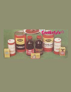 Socialistické potraviny:Výrobci a ich výrobky