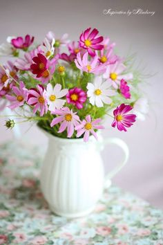 GIPHY is how you search, share, discover, and create GIFs. Cosmos Flowers, My Flower, Pretty Flowers, Flower Vases, Beautiful Flower Arrangements, Floral Arrangements, Summer Flowers, Fresh Flowers, Indoor Flowers