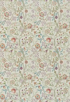 Morris Mary Isobel Rose / Artichoke Wallpaper main image