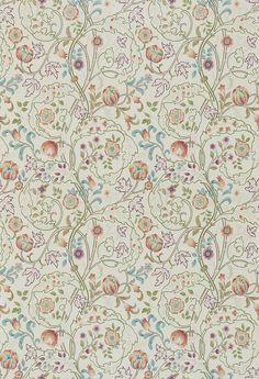 Mary Isobel Rose / Artichoke wallpaper by Morris
