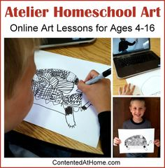 I probably shouldn't admit this, but I have placed very little emphasis on art in our homeschool. Because I'm homeschooling a large family, most of my attention
