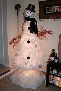 Great Snowman Christmas Tree