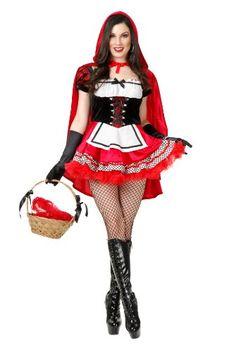 Charades Women's Red Hot Riding Hood Costume Set, Red, X-... https://www.amazon.com/dp/B008MI58F4/ref=cm_sw_r_pi_dp_x_3eR9xb0WTDTRS