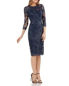 Shop the latest collection of JS Collections Embroidered Lace Sheath Dress from the most popular stores - all in one place. Similar products are available. Mother Of Groom Dresses, Mothers Dresses, Bride Dresses, Mob Dresses, Special Dresses, Fall Dresses, Wedding Dresses, Tea Length Dresses, Lace Sheath Dress