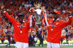 Yorke moved to Manchester United and formed a formidable strike partnership with Andy Cole...