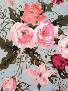Parisian Roses Acrylic on canvas 20x16
