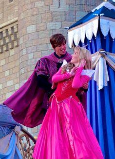 Aurora and Prince Phillip in Dream Along