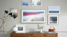 Back at CES, Samsung showed off a concept for what it calls the Frame, a TV designed to seamlessly blend into a background and display artwork when not in use to further enhance your living room...