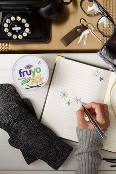 Ένας μήνας μέχρι τα Χριστούγεννα! Κάνουμε πιο γλυκιά την προσμονή με Fruyo Βανίλια.
