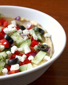 Five-layer Greek dip