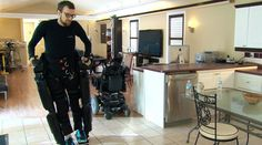 Robotic Exoskeleton: Paralyzed Patients are able to Take Steps #robotics #technology
