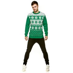 f13c5e330 Celtic Christmas Fairisle Jumper Green. Order now in time for your Christmas  Jumper competition.