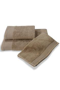 Osušky a ručníky BAMBOO z bambusového vlákna jsou k dostání také v barvě béžové.
