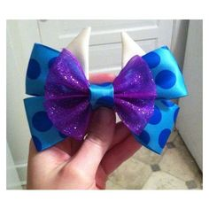 Sully Monsters Inc Bow