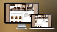 2009: My second website designed in Chile. This was created for a family-run furniture business. // Segundo diseño web en Chile. Este proyecto sirvió un negocio de muebles en el centro-sur de Chile.