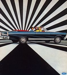 "The Wizard of ""Aah's""..New 1966 Fairlane by The Pie Shops, via Flickr"