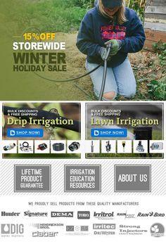 Drip Irrigation - Dripdepot Irrigation Systems & Supplies
