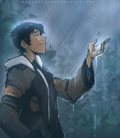 I Miss Rain- Lance in the rain from Voltron Legendary Defender