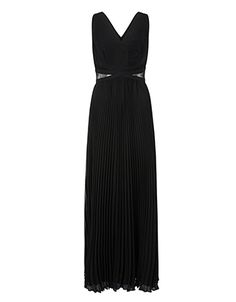 Meredith Pleated Maxi Dress