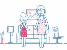 Luibelle outline animation by Toondra from our dribbble