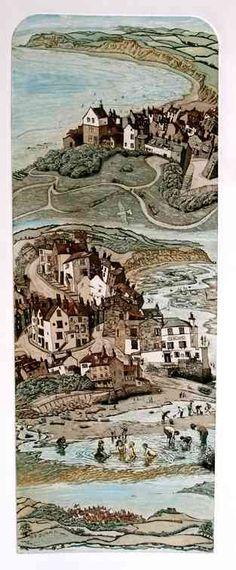 Robins Hood's Bay by Glynn Thomas  RE