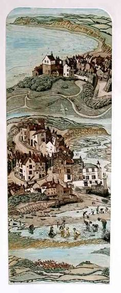 """Robins Hood's Bay"" by Glynn Thomas  RE"