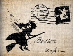Salem Witch - Boston...I've always wanted to go to Salem Mass and Concord. Witches and Alcott.