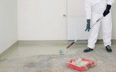 Når malingen er blandet, har du kun begrænset tid at male i, typisk 2 timer. Epoxy Floor, Little Houses, Basement, Diy And Crafts, Home Appliances, Flooring, Interior, Garage, Home Decor