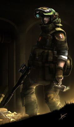 Metro 2033 fan artwork,, on Behance