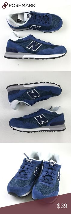 9c51ce50a2a0 New Balance 515 Sneakers DR02558 New Balance Youth Blue Navy Synthetic  Lace-Up 515 Sneakers