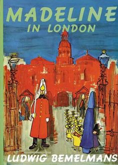 Madeline in London...this is actually a book about ME on London. They just slightly misspelled my name in the cover.
