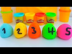 Learn Colors Play Doh Ice Cream Popsicles DIY Play-Doh Compilation Modelling Clay Finger Family - YouTube