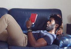 Harry Samba, France Tee shirt: Zara Jean: Zara Bracelet: made by him Harry Samba, Jordy Baan, Glitter Beards, Afro Men, Pelo Afro, Le Male, Handsome Black Men, Natural Hair Inspiration, Dear God