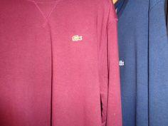 lacoste sweatshirt  crew neck intense | eBay