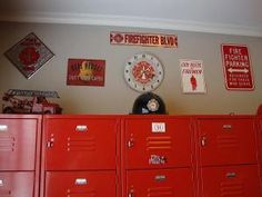 1000 Images About Firefighter Room On Pinterest Firemen Fireman Room And